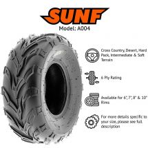 "22x10x10"" / 22x10.00x10"" SUNF A-004 TYRE 6 PLY ATV QUAD E-MARKED"